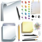 Office-supplies-vector-material-17042